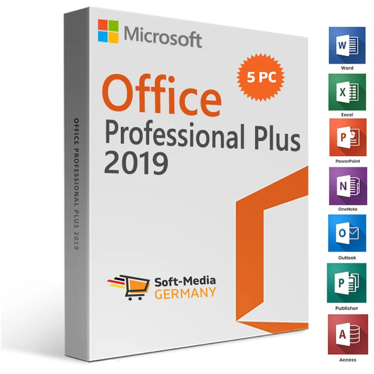 Office Professional Plus 5 PC